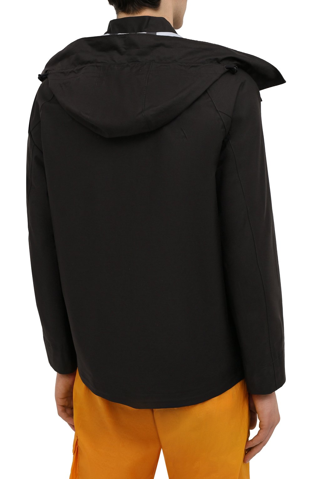 Мужская куртка STONE ISLAND черного цвета, арт. 7415442X1   Фото 4