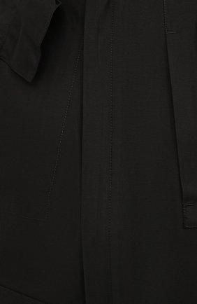 Мужская куртка STONE ISLAND черного цвета, арт. 7415442X1   Фото 5