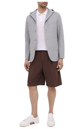 Мужской хлопковый пиджак ELEVENTY светло-серого цвета, арт. C70GIAB01 JAC23021 | Фото 2