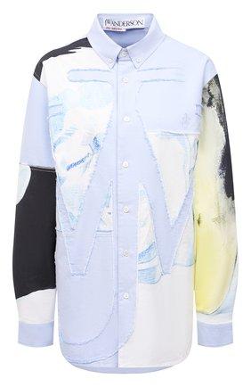 Хлопковая рубашка J.W. Anderson x Pol Anglada | Фото №1