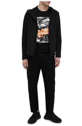 Мужские кроссовки SALVATORE FERRAGAMO черного цвета, арт. Z-07421753E | Фото 2