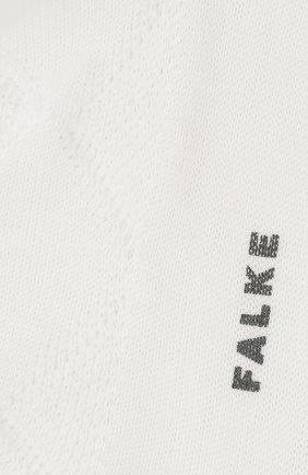 Женские хлопковые носки FALKE белого цвета, арт. 46407 | Фото 2