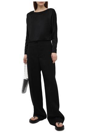 Женская блузка TEGIN черного цвета, арт. ST2154 | Фото 2