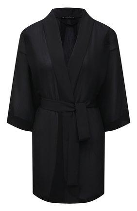 Женский халат SHAN черного цвета, арт. 52072-85 | Фото 1