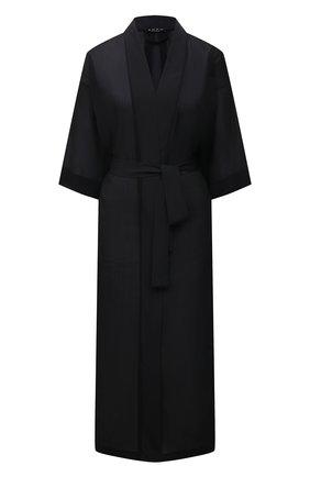 Женский халат SHAN черного цвета, арт. 52072-86 | Фото 1
