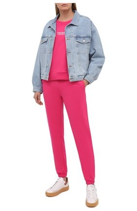 Женский хлопковый костюм SEVEN LAB фуксия цвета, арт. SWP20-D fuchsia   Фото 1