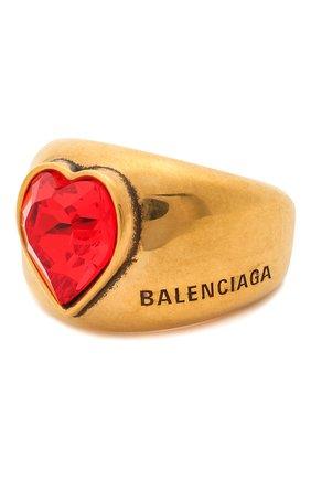 Женское кольцо heart BALENCIAGA золотого цвета, арт. 644266/TZ12J | Фото 1