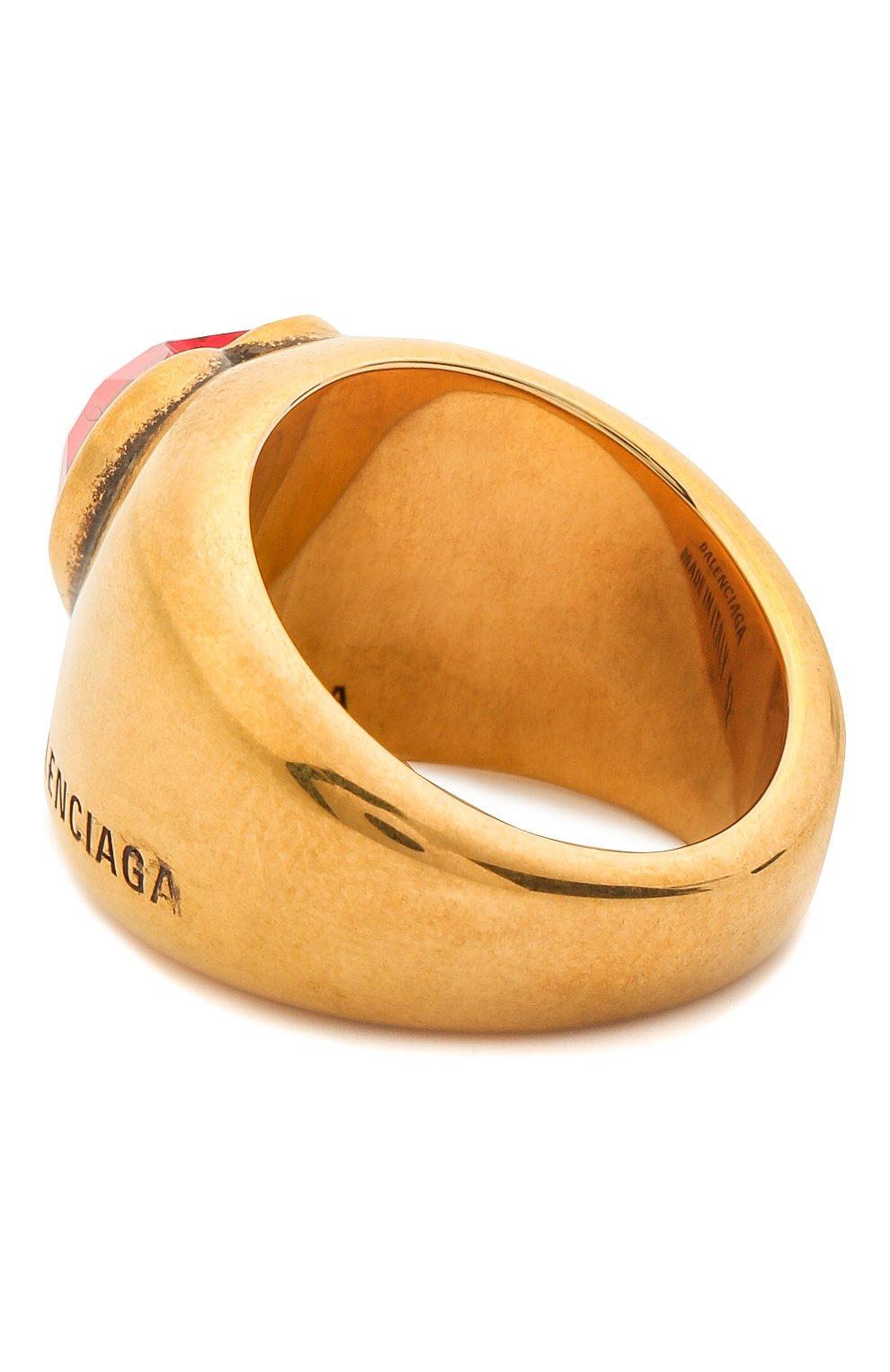 Женское кольцо heart BALENCIAGA золотого цвета, арт. 644266/TZ12J | Фото 2