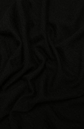 Женский кашемировый шарф RICK OWENS черного цвета, арт. RP21S3486/WS | Фото 2