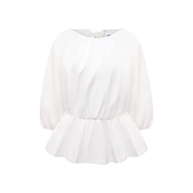 Хлопковая блузка Erika Cavallini
