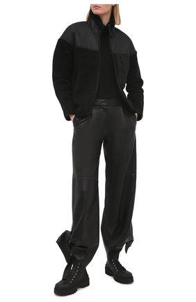 Женская куртка JAMES PERSE черного цвета, арт. WKBS2406 | Фото 2