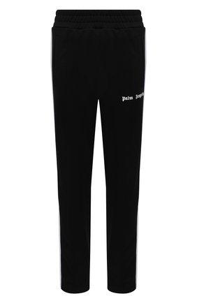 Женские брюки PALM ANGELS черного цвета, арт. PWCA035S21FAB0011001   Фото 1