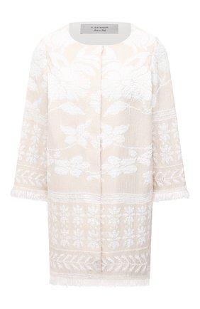 Женское пальто D.EXTERIOR светло-бежевого цвета, арт. 52401 | Фото 1