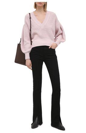 Женский хлопковый пуловер IRO светло-розового цвета, арт. WP12KIRIA | Фото 2