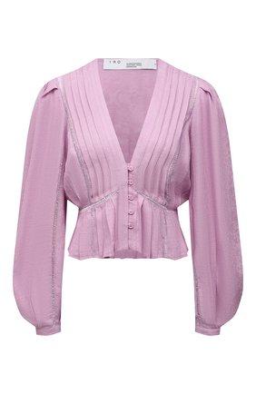 Женская льняная блузка IRO сиреневого цвета, арт. WP16CHIRA | Фото 1