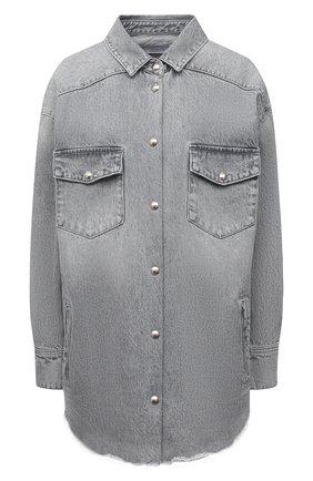 Женская джинсовая рубашка IRO серого цвета, арт. WP18YGGA | Фото 1