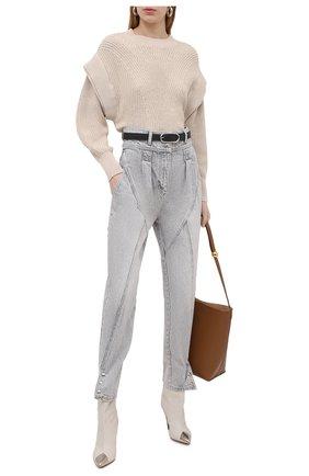 Женские джинсы IRO светло-серого цвета, арт. WP23ETEL | Фото 2