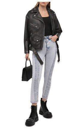 Женские джинсы IRO светло-голубого цвета, арт. WP23INAHE | Фото 2