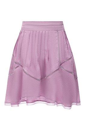 Женская юбка IRO сиреневого цвета, арт. WP31J0N | Фото 1