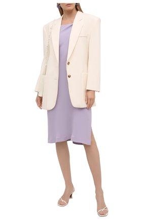 Женское платье из вискозы IRO сиреневого цвета, арт. WP33M0RPHEA | Фото 2