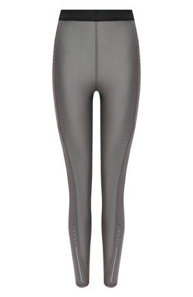 Женские леггинсы MONCLER серого цвета, арт. G1-093-8H731-10-8790K | Фото 1