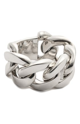 Женское кольцо BOTTEGA VENETA серебряного цвета, арт. 573476/V5070 | Фото 1