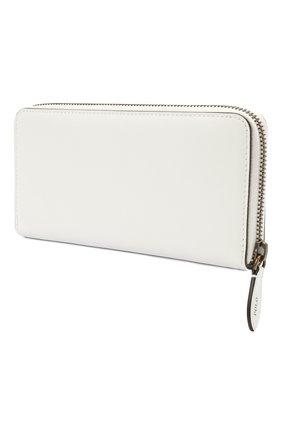Женские кожаный кошелек POLO RALPH LAUREN белого цвета, арт. 427828901 | Фото 2