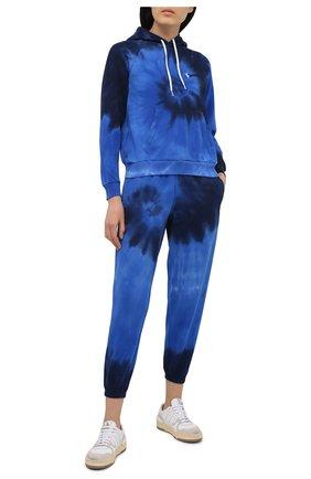 Женский хлопковое худи POLO RALPH LAUREN синего цвета, арт. 211838151 | Фото 2
