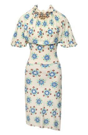 Женское платье из вискозы PACO RABANNE разноцветного цвета, арт. 21PJR0309VI0269 | Фото 1