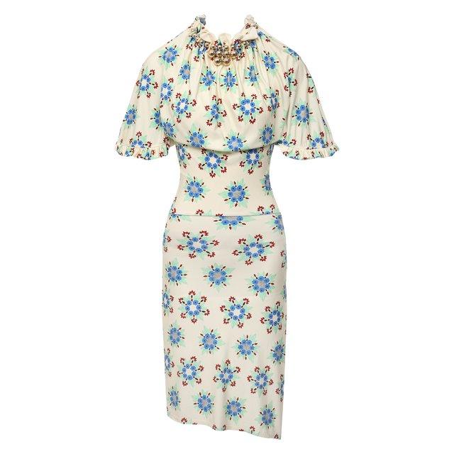 Платье из вискозы Paco Rabanne