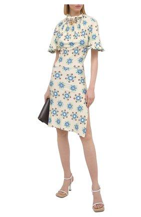Женское платье из вискозы PACO RABANNE разноцветного цвета, арт. 21PJR0309VI0269 | Фото 2
