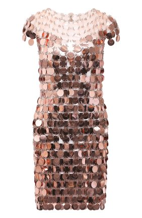 Женское платье PACO RABANNE розового цвета, арт. 21PIR0014PS0138 | Фото 1