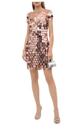 Женское платье PACO RABANNE розового цвета, арт. 21PIR0014PS0138 | Фото 2