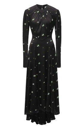 Женское платье PACO RABANNE черного цвета, арт. 21PCR0312P00180 | Фото 1