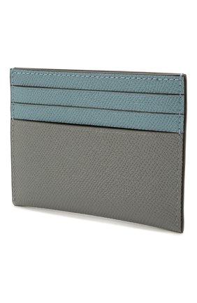 Женский кожаный футляр для кредитных карт COACH серого цвета, арт. 12070   Фото 2