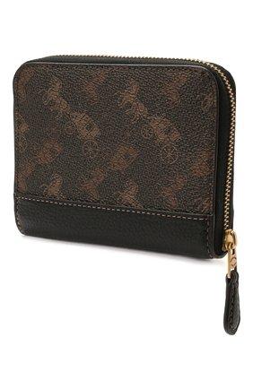 Женские портмоне COACH темно-коричневого цвета, арт. 4864   Фото 2