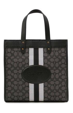 Женский сумка-тоут field medium COACH черного цвета, арт. 5868   Фото 1