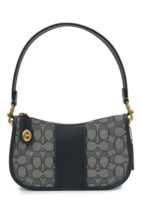 Женская сумка swinger COACH темно-синего цвета, арт. C0721   Фото 1