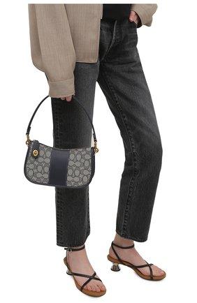 Женская сумка swinger COACH темно-синего цвета, арт. C0721   Фото 2