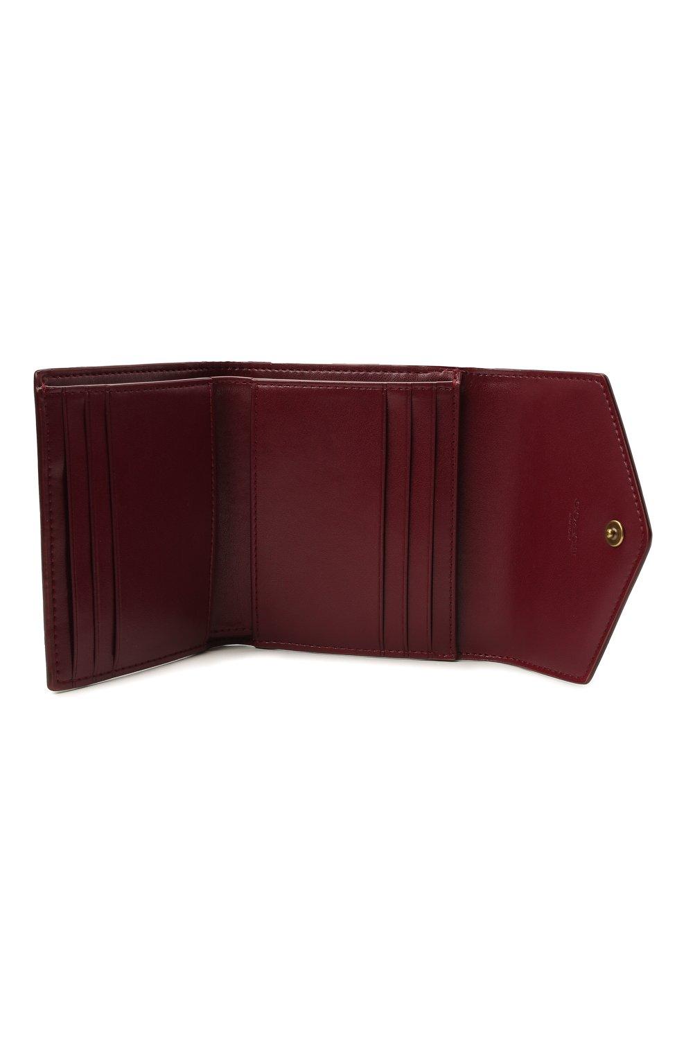 Женские портмоне COACH коричневого цвета, арт. C1375 | Фото 3