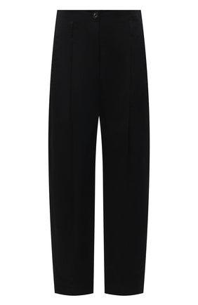 Женские хлопковые брюки TELA черного цвета, арт. 01 0157 14 8028 | Фото 1