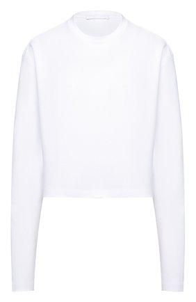 Женский хлопковый свитшот WARDROBE.NYC белого цвета, арт. W1015R03 | Фото 1