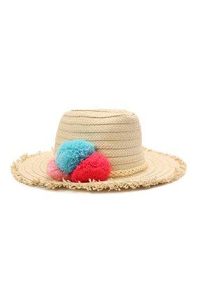 Детская шляпа SNAPPER ROCK бежевого цвета, арт. 636 | Фото 1