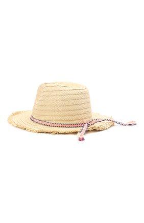Детская шляпа SNAPPER ROCK бежевого цвета, арт. 647 | Фото 2