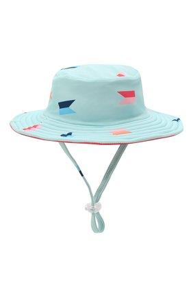 Детская двусторонняя шляпа SNAPPER ROCK голубого цвета, арт. 670 | Фото 1