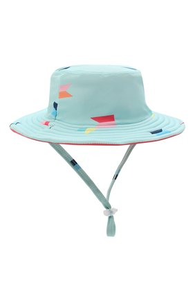 Детская двусторонняя шляпа SNAPPER ROCK голубого цвета, арт. 670 | Фото 2