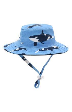 Детская двусторонняя шляпа SNAPPER ROCK голубого цвета, арт. 671 | Фото 1