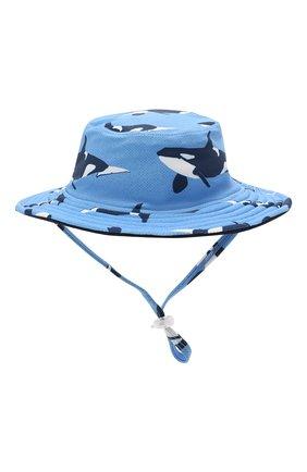 Детская двусторонняя шляпа SNAPPER ROCK голубого цвета, арт. 671 | Фото 2
