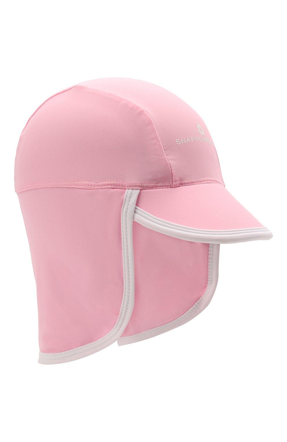 Детская кепка SNAPPER ROCK розового цвета, арт. 602 | Фото 1 (Материал: Текстиль)