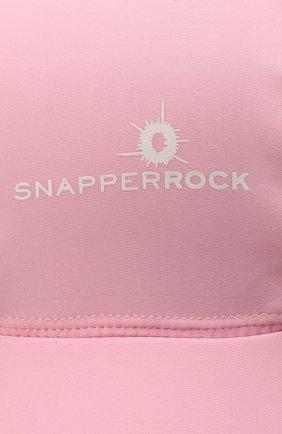 Детская кепка SNAPPER ROCK розового цвета, арт. 602 | Фото 3 (Материал: Текстиль)